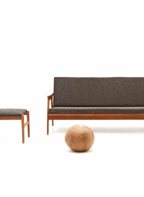 Sofa Set, Skandinavisches Design - 3