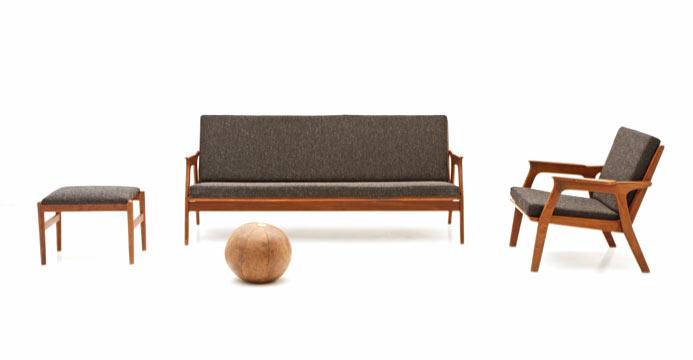 Sofa Set, Skandinavisches Design Sofa Set, Skandinavisches Design   1 ...