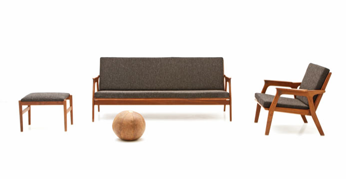 Sofa Set, Skandinavisches Design - 1