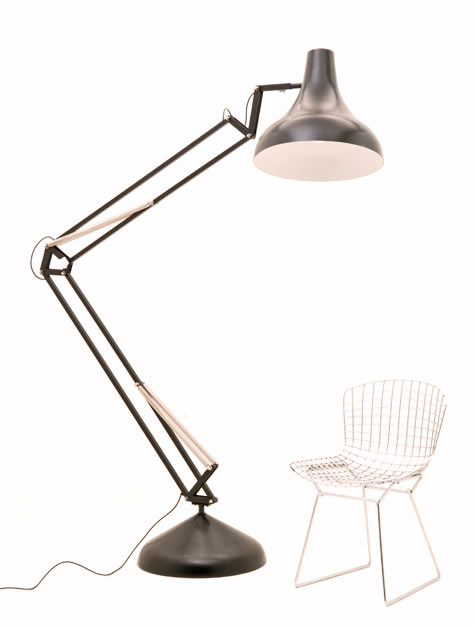 Stehlampe Pop Art, Neu