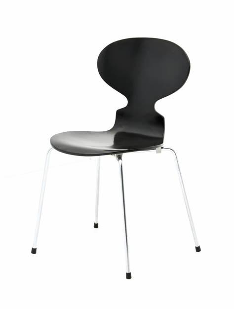 Jacobsen stuhl serie stuhl in rosa mit stuhlbeinen design for Fritz hansen nachbau