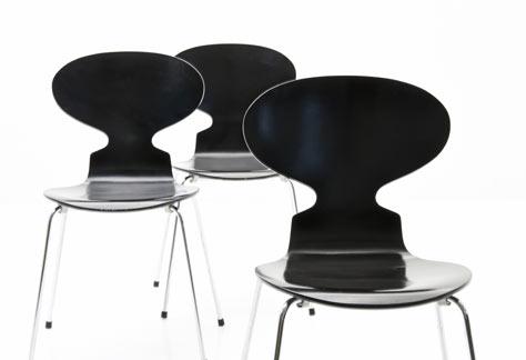 Stuhl arne jacobsen ameise 3101 5988 holzstuhl for Arne jacobsen stuhl replica
