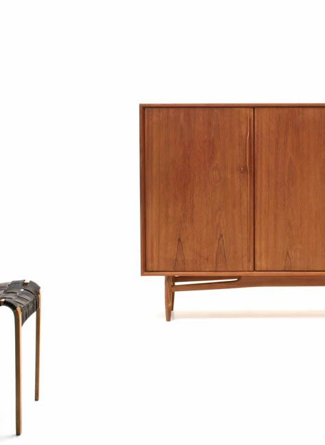 Swiss Teak Highboard - 3