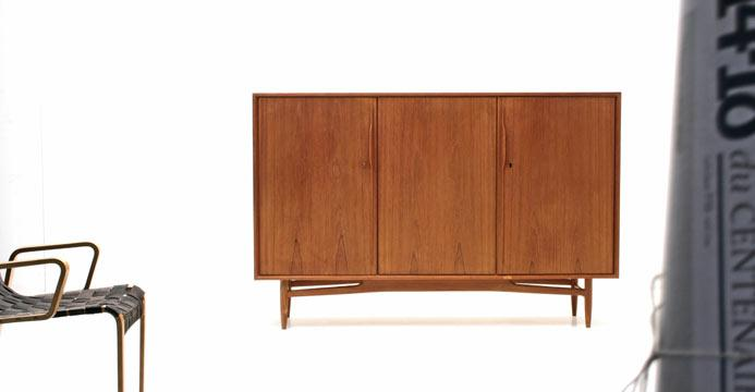 Swiss Teak Highboard - 0